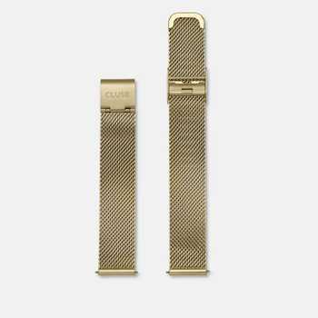 Cluse Strap 16 mm - Mesh Gold CLS346 CS1401101029