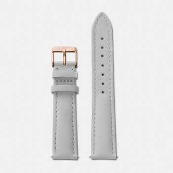 Cluse Strap 18 mm - Grey/Rose Gold CLS019
