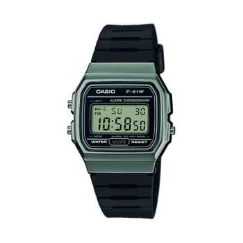 Casio Collection F-91WM-1BEF Unisexuhr