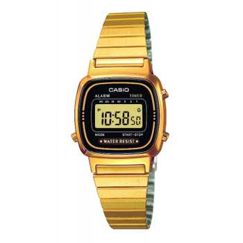 Casio Collection  LA670WEGA-1EF Damenuhr