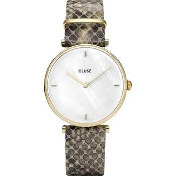 Cluse CL61008 Triomphe Gold Python Special Edition