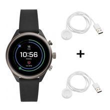 Fossil FTW6024 Sport Smartwatch + 2 Original Ladekabel