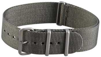 Natoarmband 20mm in grau Military Nato Band Nato Armband 001