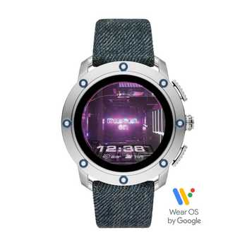 Diesel On Full Axial DZT2015 Smartwatch + 2 Originale Diesel Smartwatch Ladekabel