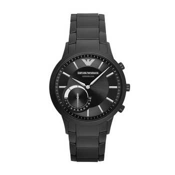 Black Friday Emporio Armani Connected Renato ART3001 Hybrid Smartwatch