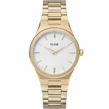 Cluse Vigoureux 33 H-Link, Gold, Snow White/Gold CW0101210002