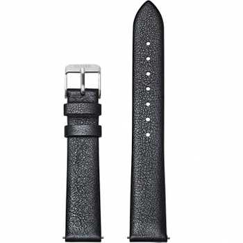 Cluse Strap 16 mm Leather, Dark Grey Metallic/ Silver CS1408101053