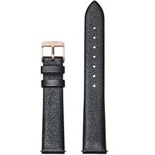 Cluse CS1408101054 Strap 16 mm Leather, Dark Grey Metallic/ Rose Gold