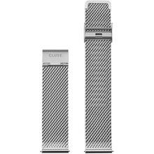 Cluse Strap 20 mm Mesh, Silver/ Silver CS1401101061