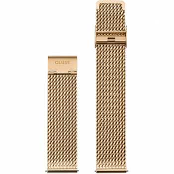 Cluse Strap 20 mm Mesh, Gold/ Gold CS1401101062