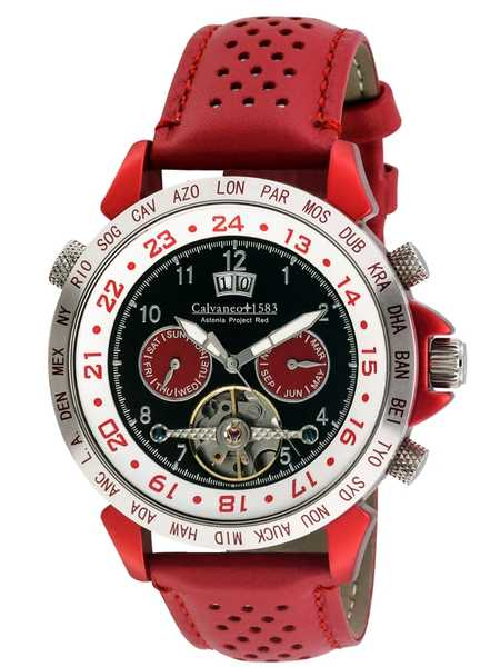 Calvaneo 1583 Astonia Project Red Aluminium Edition
