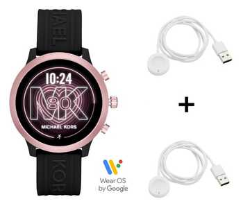 Michael Kors Access MKGO MKT5111 Smartwatch + 2x Michael Kors Ladekabel