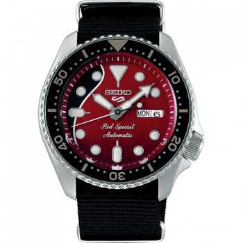 Seiko SRPE83K1 5 Sports Brian May Red Special Limited Edition