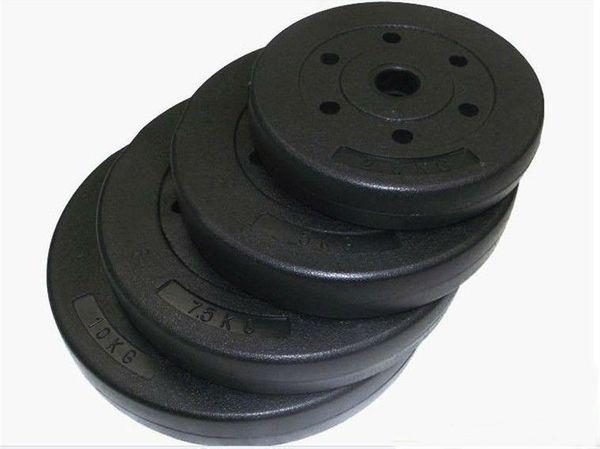 50kg Hantelscheiben Zement Gewichte (4x10kg + 2x 5kg) von Swiss Gym!