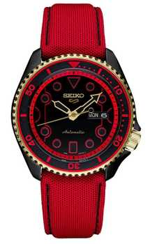 Seiko 5 Ken Streetfighter Limited SRPF20K1 Rush`n ` Blaze Edition