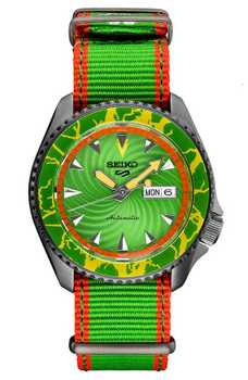 Seiko 5 Blanka Streetfighter SRPF23K1 Call of the Wild Edition