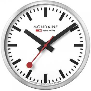 Mondaine SBB MSM.25S10 Clocks