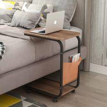 Beistelltisch, Laptoptisch, Bett, Sofa mit Rollen und Ablagefach