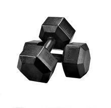 2 x 7.5 kg Hex Hanteln, Profi Kurzhanteln Hexagon Set 15 kg