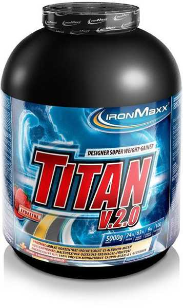 Ironmaxx Super Weight Gainer Titan V2.0 5000g