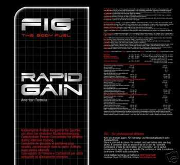 FIG Rapid Gain Super Weight Gainer