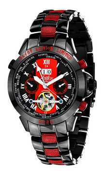Zeitlos Excellent Beast Carbon Steelband Limited Edition ZL-EB-10 CB 001
