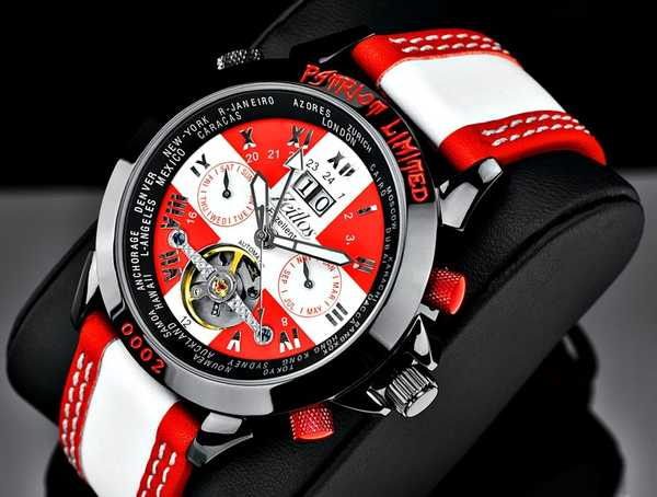 Zeitlos Exzellent Patriot Limited Edition Automatik
