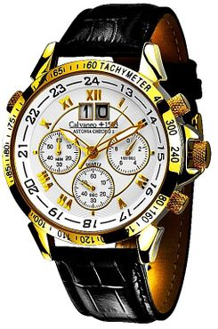 Calvaneo 1583 Astonia Chrono One GOLD - Caliber 6S50, yellow gold plated