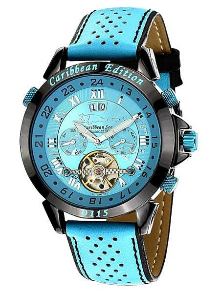 Calvaneo 1583 Astonia Caribbean Limited Edition Automatic Watch 001