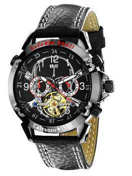 Calvaneo 1583 Astonia Skull Edition Society Designer Automatic Watch