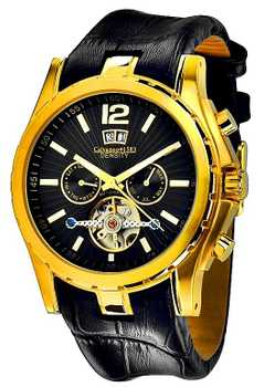 Calvaneo 1583 Density Gold Black Automatik