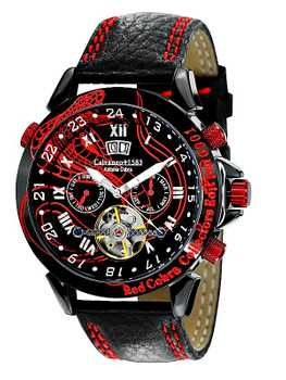 Calvaneo 1583 Astonia Red Cobra Collector's Edition, Special Edition, Automatic