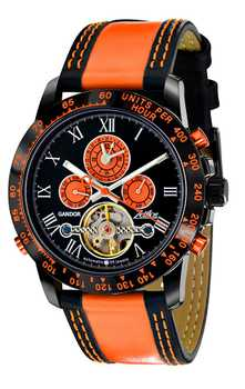 Zeitlos Gandor Race Orange Automatic 001