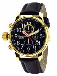 Calvaneo 1583 Vengalis Gold Spirit  Leftside Chronograph Komplikation