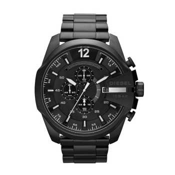 Diesel DZ4283 Mega Chief Black Out Chronograph Steelband