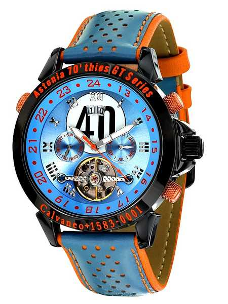 Calvaneo 1583 Astonia 70thies GT Series Limited Racewatch, Automatic 001