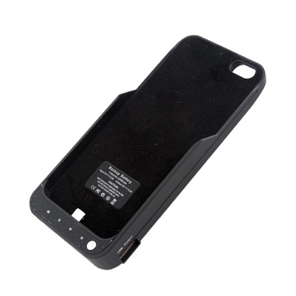 iPhone 5 iPhone 5S Akkucase 4200mAh Batterie mit Share with your Friends funktion!