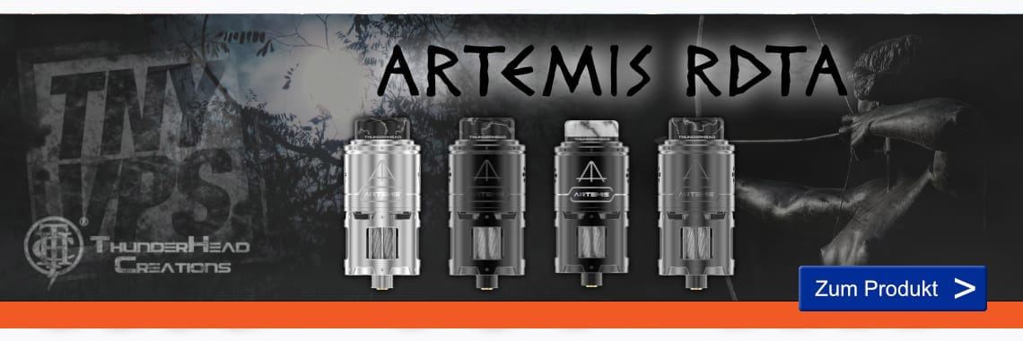 ThunderHead Creations Artemis RDTA Selbstwickelverdampfer 4.5 ml
