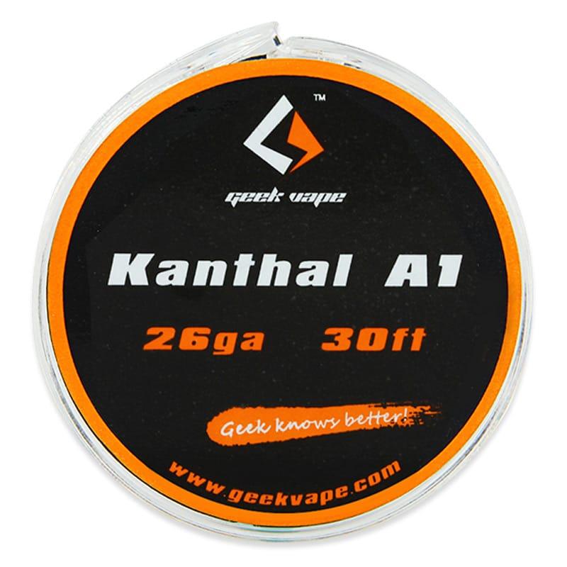 GeekVape Wickeldraht Kanthal-A1 28GA, 26GA oder 24GA 10 Meter – Bild 1