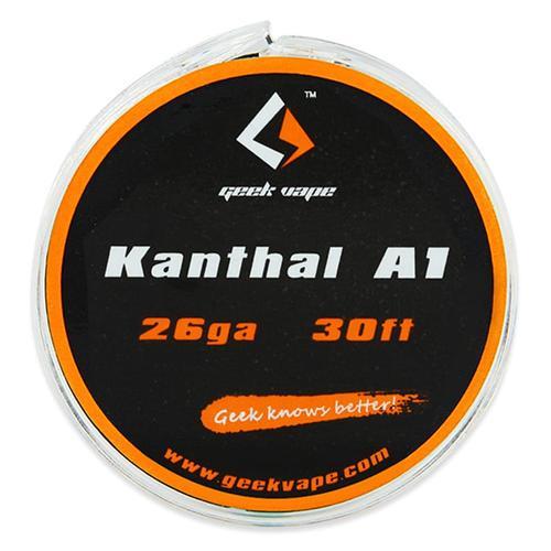 GeekVape Wickeldraht Kanthal-A1 28GA, 26GA oder 24GA 10 Meter