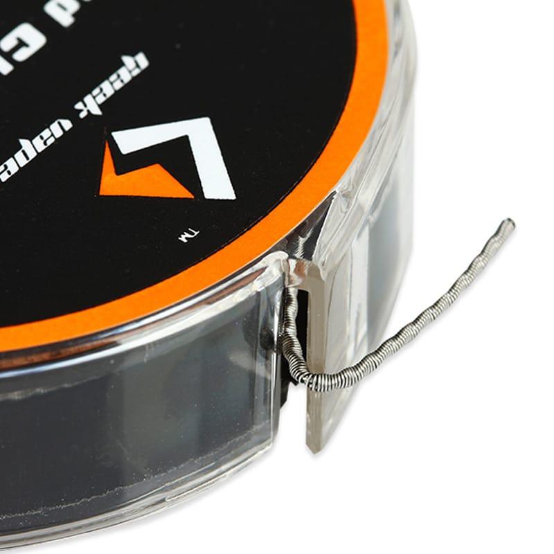 GeekVape Wickeldraht Twisted Clapton 2x26GA/32GA 3 Meter – Bild 4