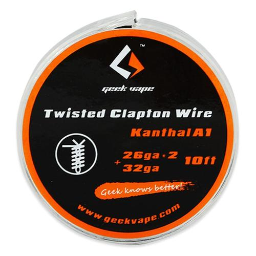 GeekVape Wickeldraht Twisted Clapton 2x26GA/32GA 3 Meter