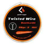 GeekVape Wickeldraht Double Twisted 2x28GA oder 2x26GA – Bild 1