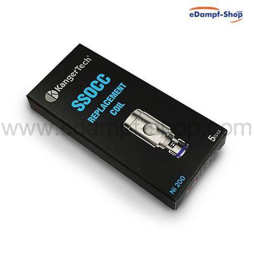 KangerTech SSOCC Ni200 Verdampferköpfe 0.15 Ohm 5er Pack
