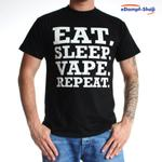 Vape-Dat Dampfer T-Shirt - EAT-SLEEP-VAPE-REPEAT