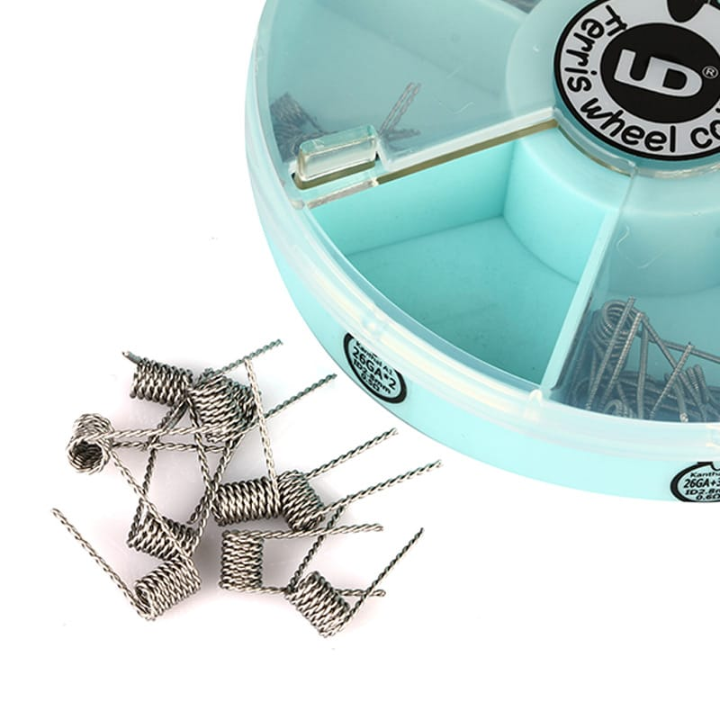 UD Ferris Wheel Coil Box 7 Sorten je 10 Stück Fertigcoils – Bild 5