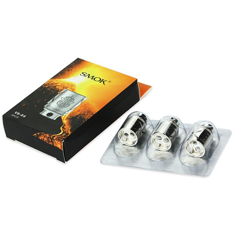 SMOK TFV8 V8-X4 Quadruple Coil Verdampferköpfe 0.15 Ohm 3er Pack – Bild 2