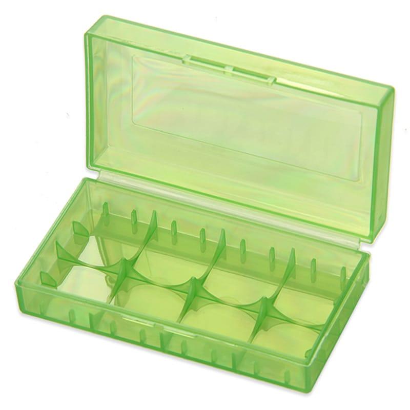 Aufbewahrungsbox für Akkus (2 x 18650 oder 4 x 18350) – Bild 1