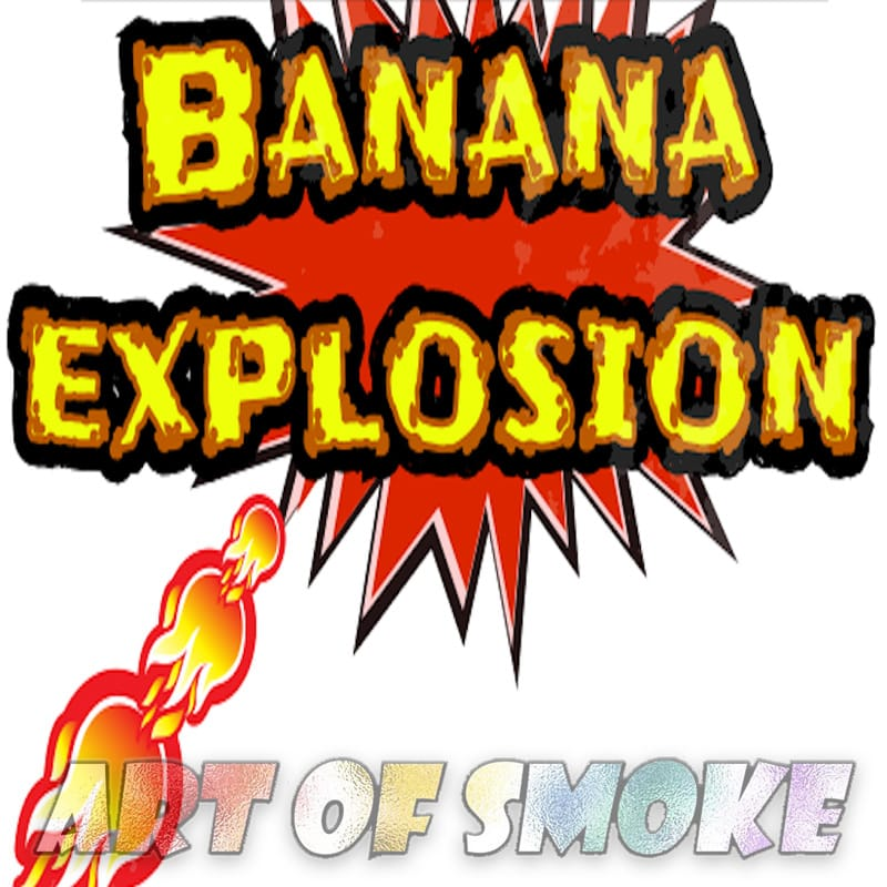 Art of Smoke Banana Explosion Premium Aroma 10 ml – Bild 1