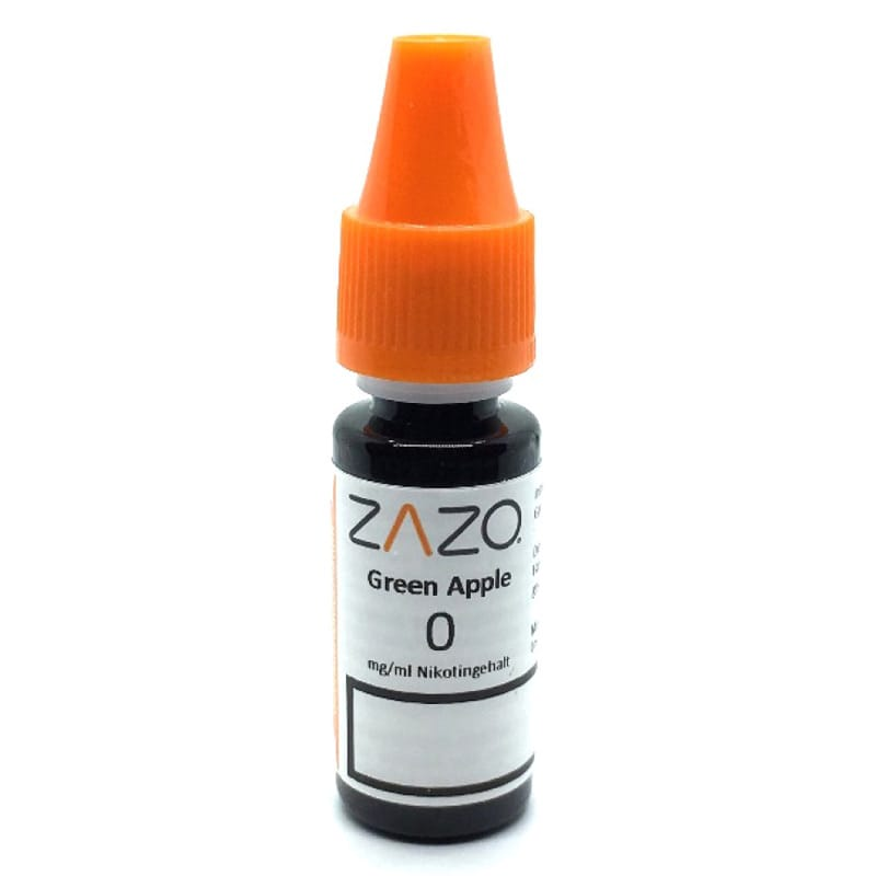 Zazo Green Apple e-Liquid 10 ml – Bild 2